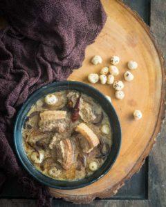 %Pork Rezala recipe debjanir rannaghar