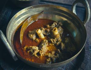 %Bengali Mutton Curry recipe debjanir rannaghar