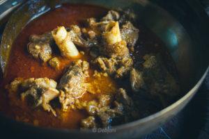 %Biyebari style Bengali mutton curry recipe debjanir rannaghar