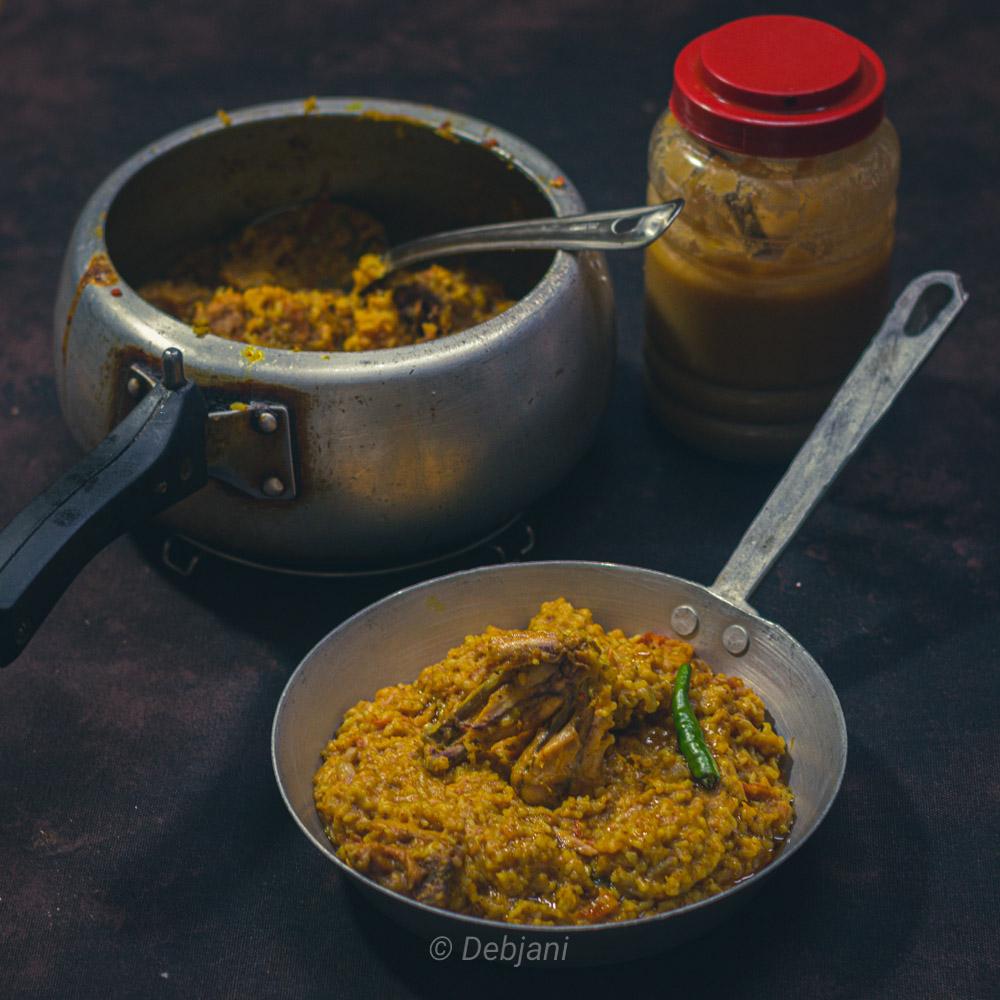 %Murgi Khichuri Recipe Debjanir Rannaghar