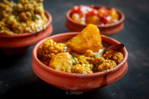 %Aloo Phulkopi Dalna Recipe Debjanir Rannaghar