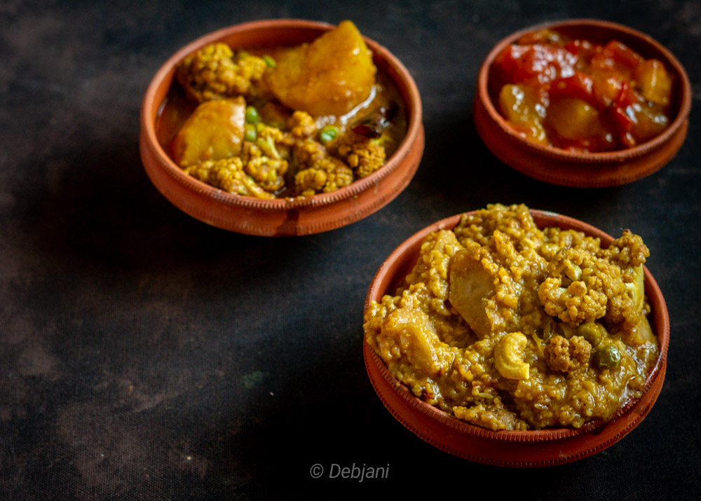 %Bengali Niramish Khichuri Recipe Debjanir Rannaghar