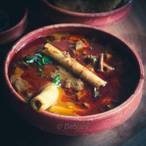 %Nalli Nihari recipe Debjanir Rannaghar