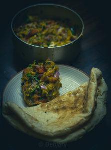 %Bengali Begun Vorta Recipe Debjanir Rannaghar