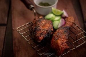 %Tandoori Chicken Recipe Debjanir Rannaghar
