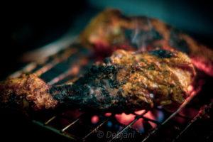 %Tandoori Chicken in Gas oven Recipe Debjanir Rannaghar