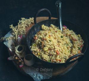 %Bhat Bhaja Recipe Debjanir Rannaghar