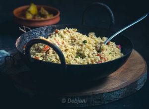 %Bhatbhaja bengali fried rice Recipe Debjanir Rannaghar
