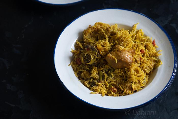 %Chicken Pulao recipe debjanir rannaghar Recipe Debjanir Rannaghar (2)