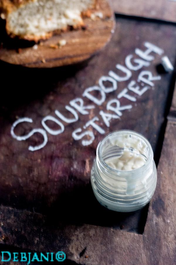 %Mother yeast recipe Sourdough starter recipe debjanir rannaghar