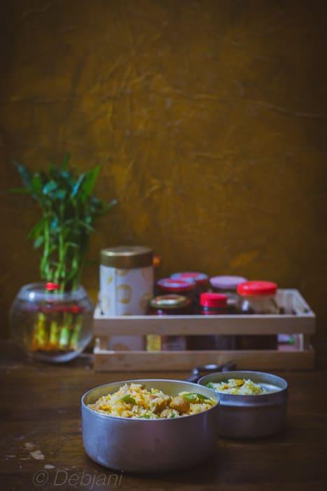 %homemade Soya rice Recipe debjanir rannaghar