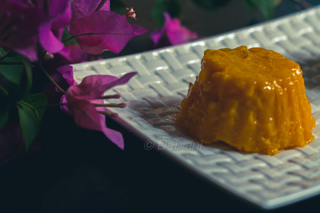 %Indian mango pudding recipe debjanir rannaghar