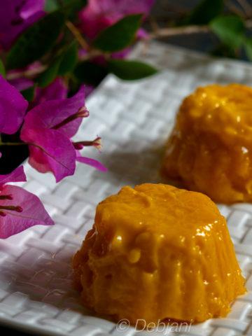 %mango pudding recipe debjanir rannaghar