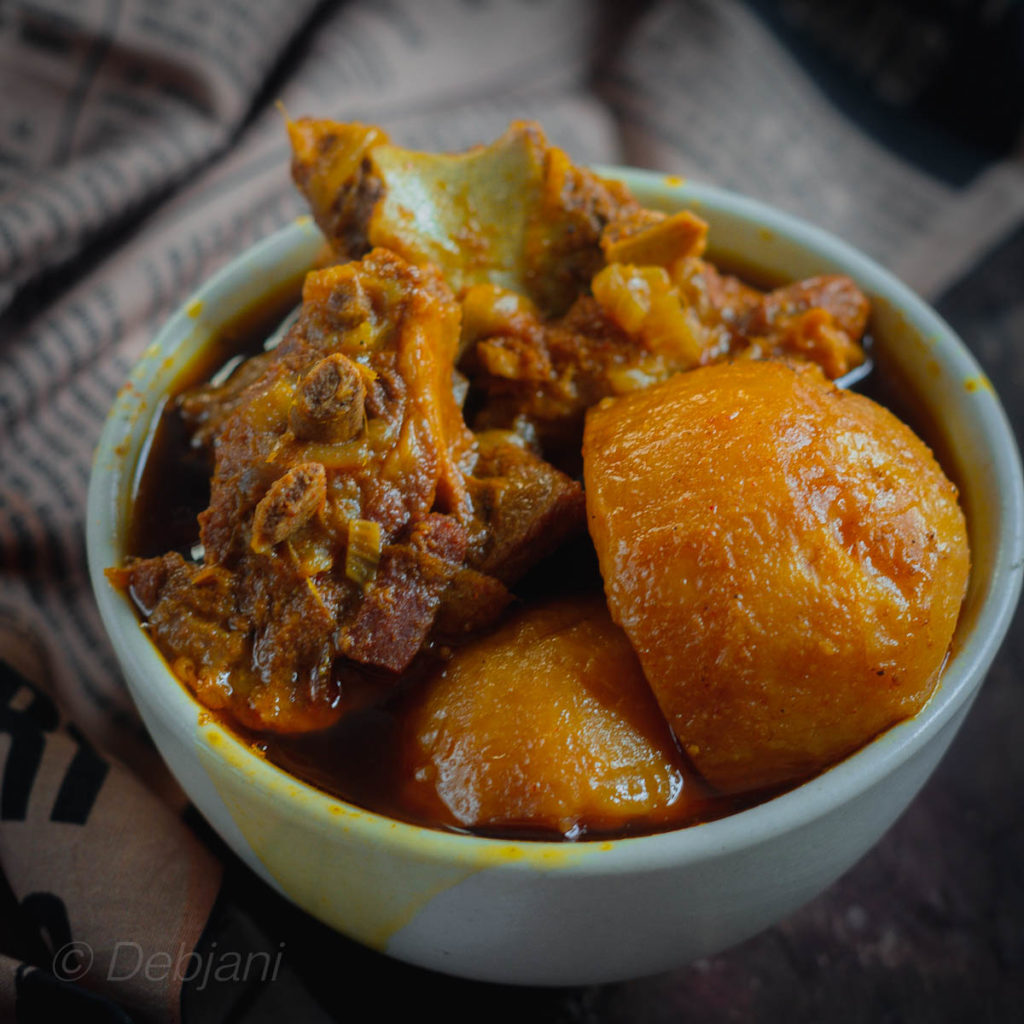 %Aloo Gosht recipe debjanir rannaghar