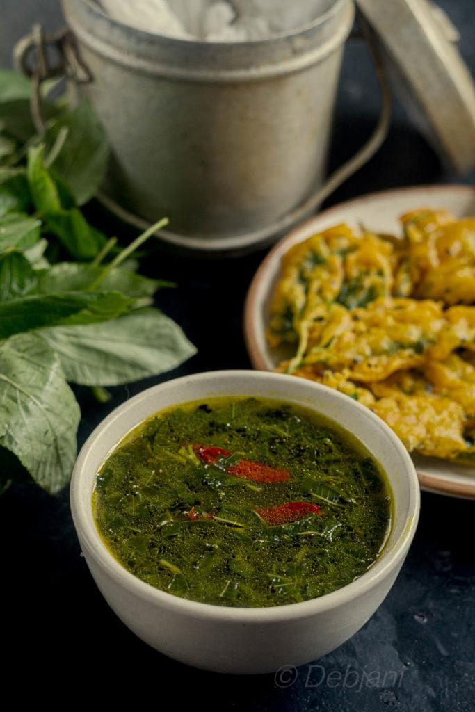 %Bengali Pat Patar Jhol recipe debjanir rannaghar