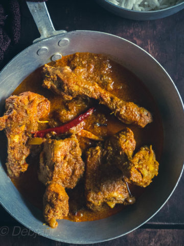 %Chicken Kosha Debjanir Rannaghar