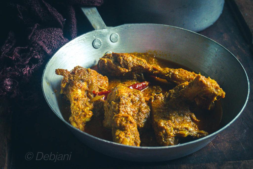 %Kosha Murgir Mangsho recipe Debjanir Rannaghar