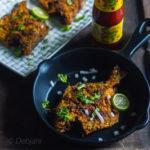 %Mangalorean Rava Pomfret fry recipe debjanir rannaghar