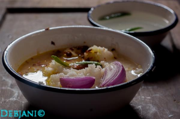 %Panta Bhaat Recipe debjanir rannaghar