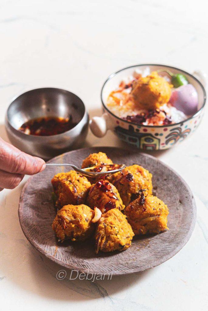%Musur Daler Bhorta Recipe debjanir rannaghar (2)