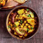 %Niramish Ghugni Recipe Debjanir Rannaghar