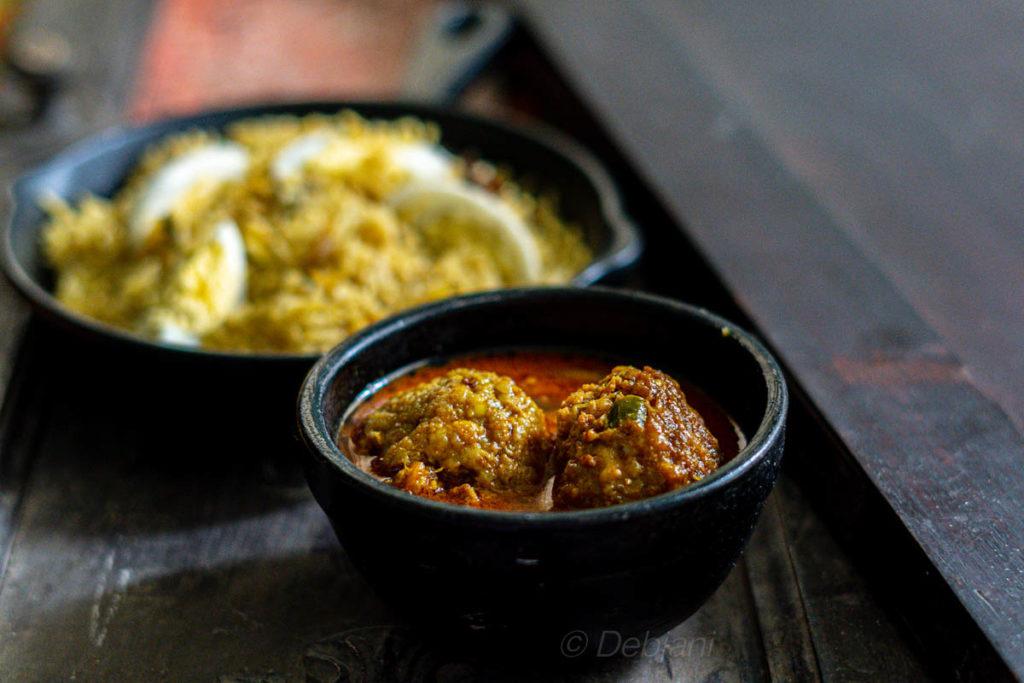 %anglo-indian pork meatball curry recipe debjanir rannaghar